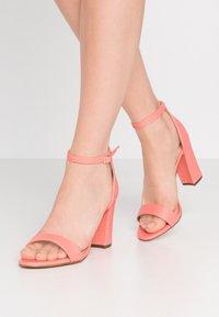 Madden Girl - BEELLA - High heeled sandals - coral - 0