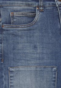 Dranella - DRLULU 1 TRACY JEANS - PATCHED JEANS - Slim fit jeans - mid blue denim - 8