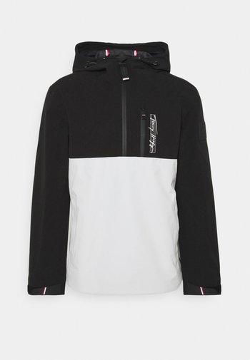 VERTICAL LOGOPOPOVER JACKET - Summer jacket - black