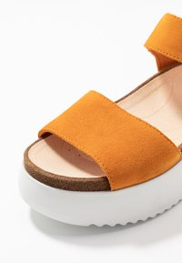 Clarks - BOTANIC STRAP - Platform sandals - amber - 6