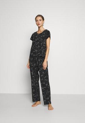 TAMRA - Pyžamová sada - black