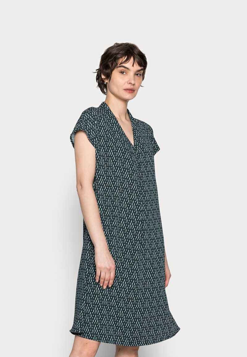 someday. - QALIMA - Day dress - pacific