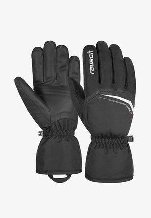 Gloves - black / white