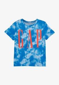 GAP - TODDLER BOY LOGOMANIA TEE - Print T-shirt - blue burst - 2
