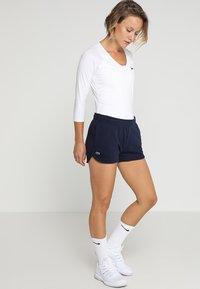 Lacoste Sport - WOMEN TENNIS SHORT - Sports shorts - navy blue - 1