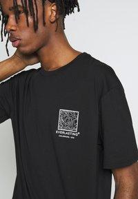 Topman - EVER MONO TEE - T-shirt print - black - 4