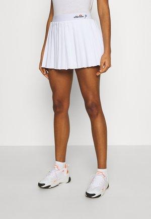 GEENA - Mini skirt - white