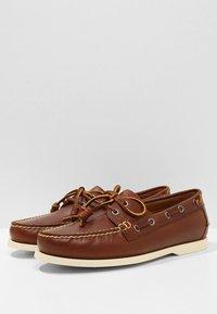 Polo Ralph Lauren - MERTON - Scarpe da barca - deep saddle tan - 2