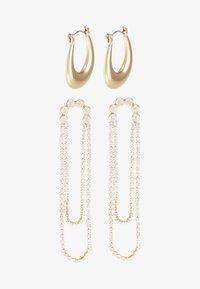 Pieces - Boucles d'oreilles - gold-coloured - 3