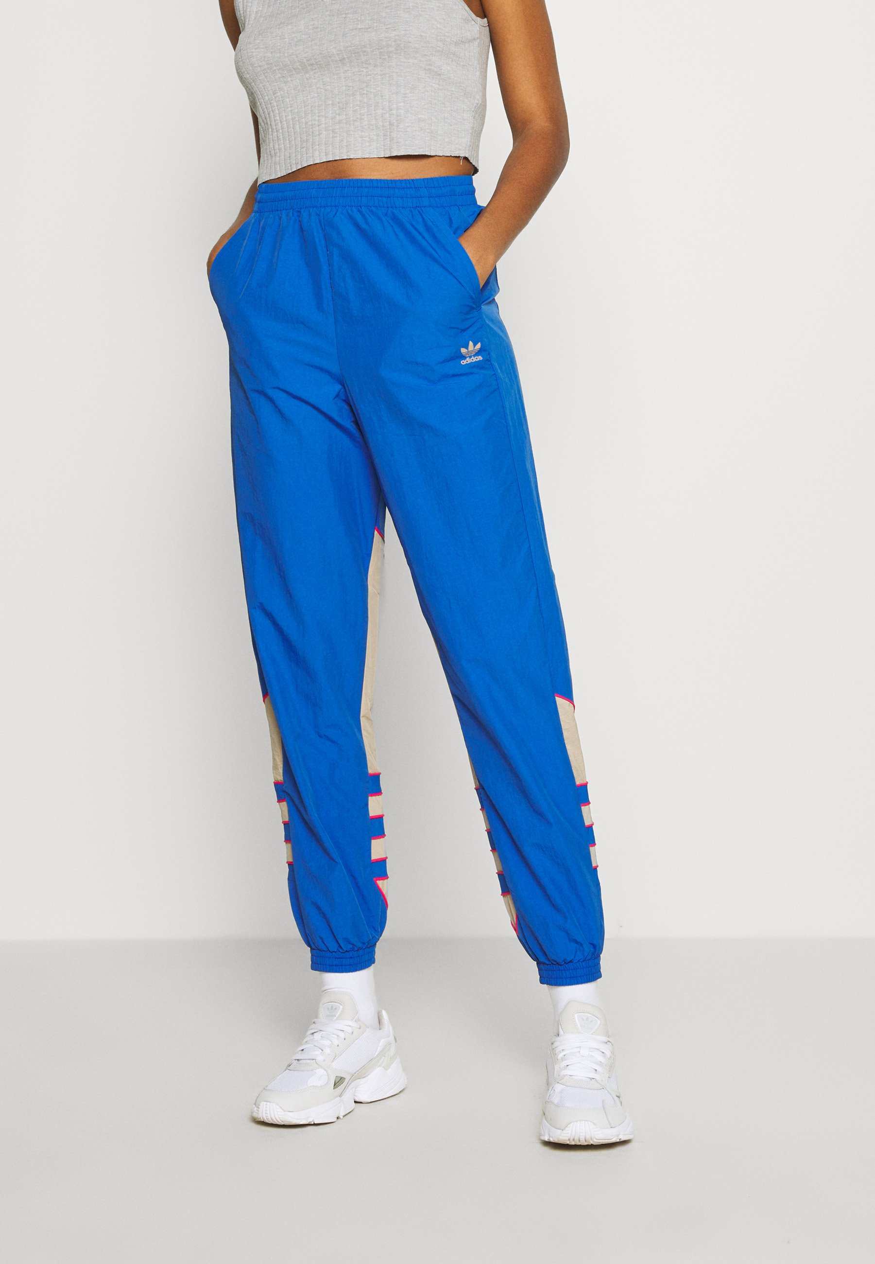 Mira abajo Labor  adidas Originals BIG - Pantalones deportivos - team royal blue/trace  khaki/power pink/azul royal - Zalando.es