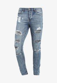 LEYLAND - Skinny džíny - denim