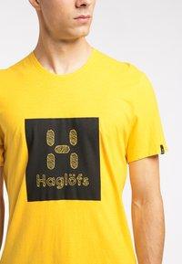 Haglöfs - Print T-shirt - pumpkin yellow - 3