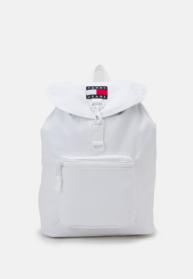 HERITAGE FLAP BACKPACK UNISEX - Batoh - white