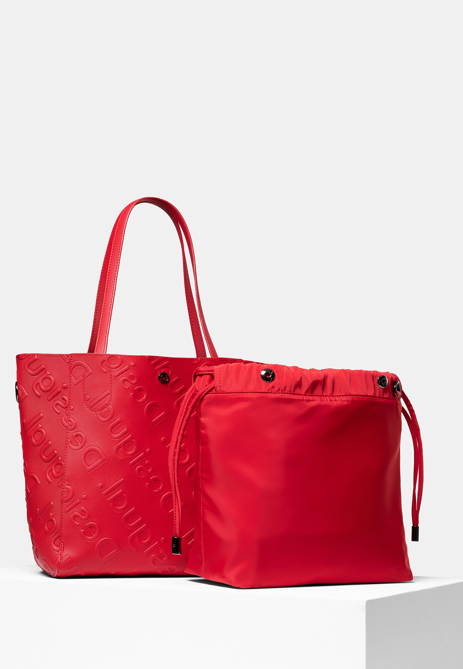 desigual väska röd