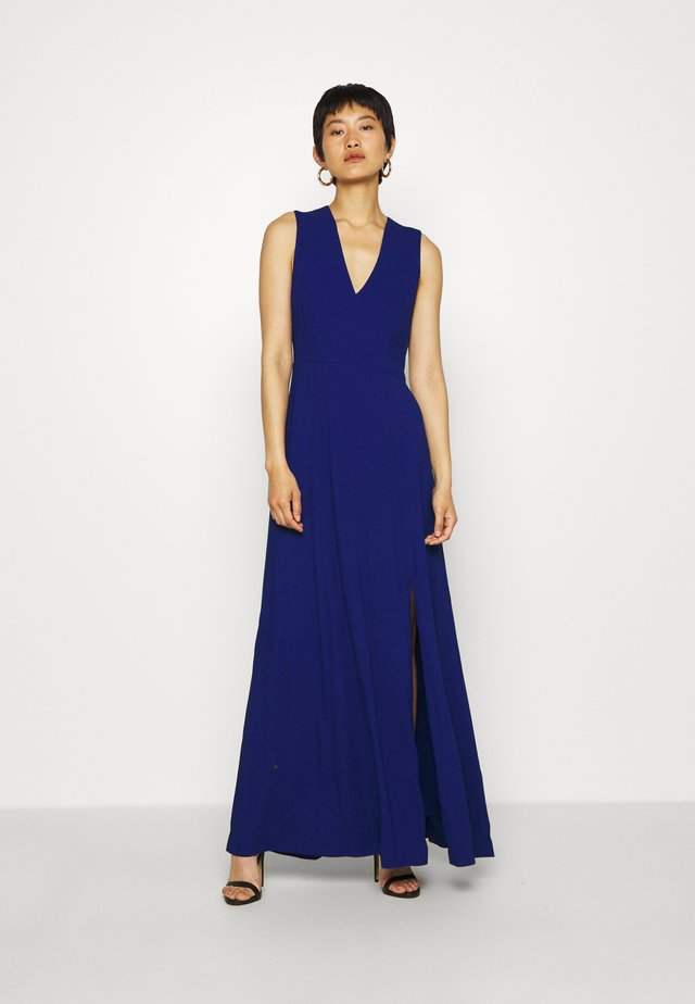 BACK SLIT DRESS MAXI - Robe de cocktail - illuminated blue