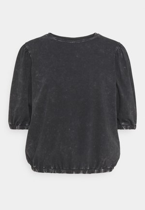 NMSIA  - T-shirt med print - obsidian