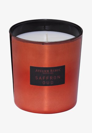SAFFRON OUD SCENTED CANDLE 210G - Scented candle - brown