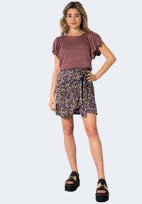 ONLY - ONLOLIVIA WVN NOOS - A-line skirt - violet - 1