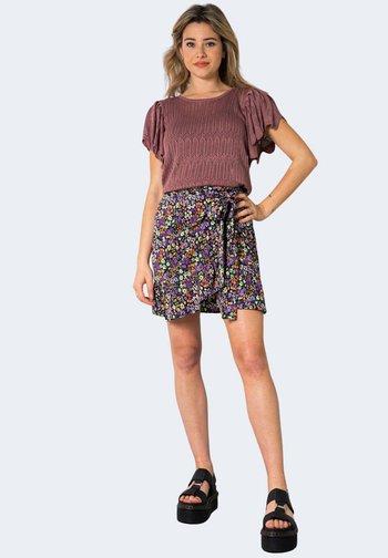 ONLOLIVIA WVN NOOS - A-line skirt - violet