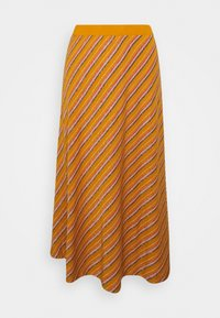 NUBUNTY SKIRT - A-line skirt - buck brown