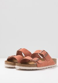 Birkenstock - ARIZONA - Slippers - earth red - 4
