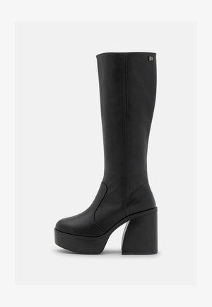 SETENTA - Platåstøvler - black
