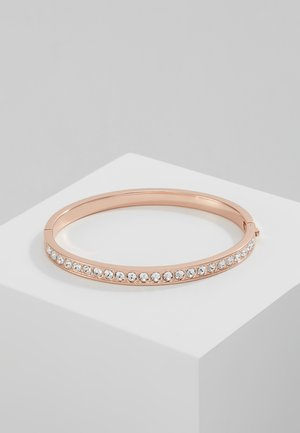CLEMARA HINGE BANGLE - Rannekoru - rose gold-coloured/crystal