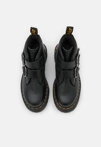 Dr. Martens - DEVON HEART - Platform ankle boots - black aunt sally - 5