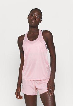 MILER TANK RACER - Funkční triko - pink glaze/silver