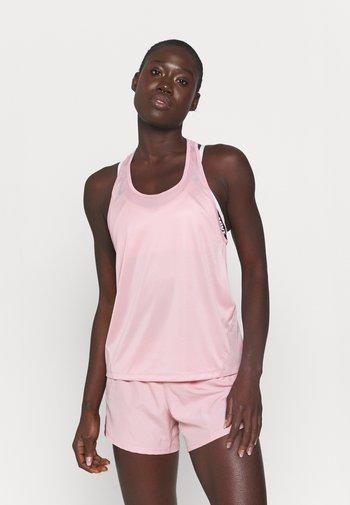 MILER TANK RACER - Sportshirt - pink glaze/silver