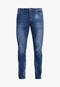 Only & Sons - ONSLOOM DAMAGE - Slim fit jeans - blue denim - 4