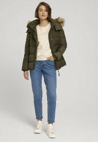 TOM TAILOR DENIM - Winter jacket - deep olive green - 1