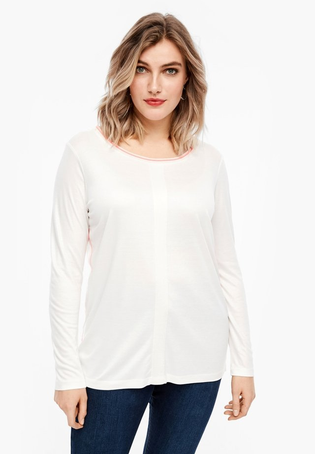 LONGSLEEVE - Long sleeved top - off white