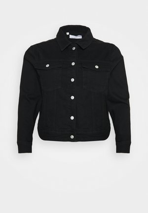 SLFTENNA JACKET - Denim jacket - black denim