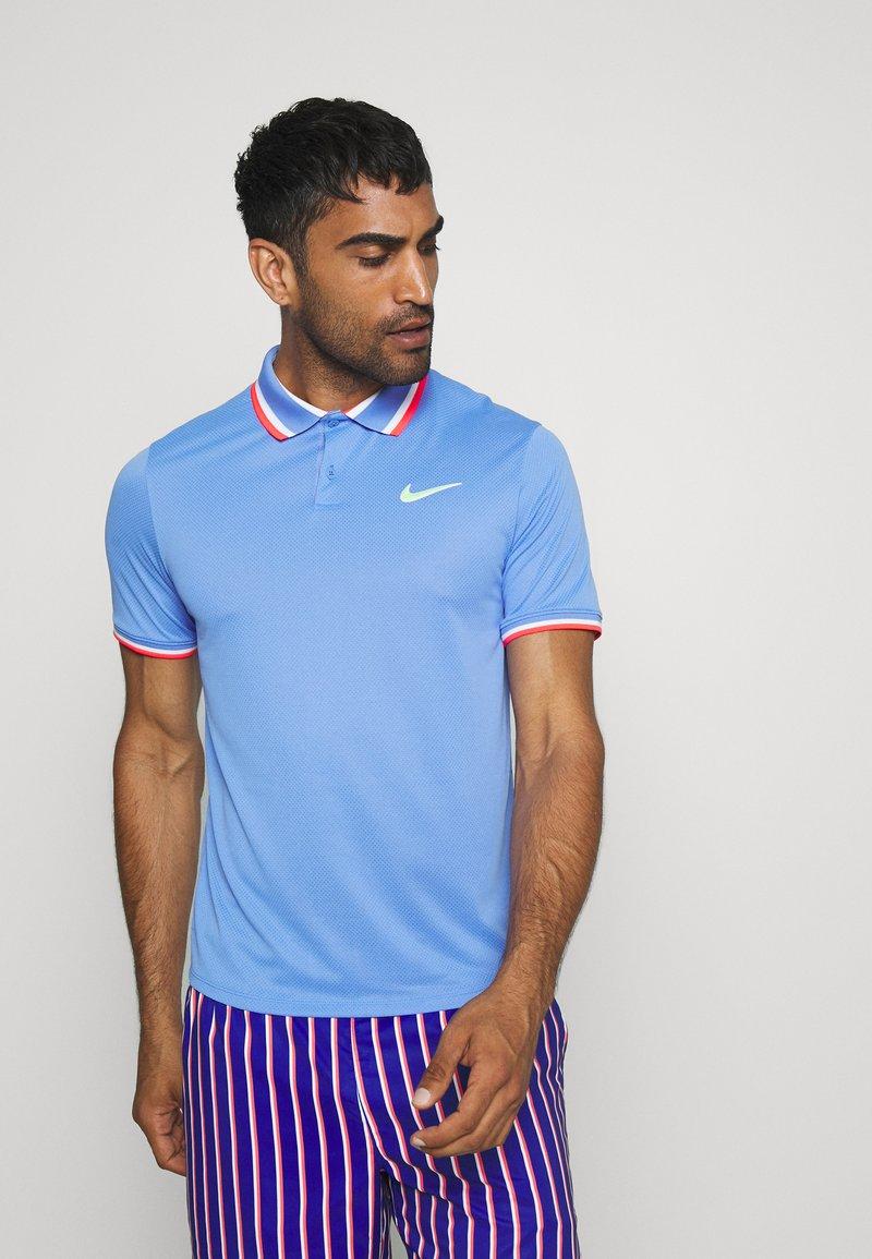 Nike Performance - SLAM - Sportshirt - royal pulse/ghost green