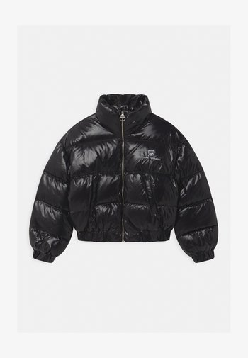 LOGO - Down jacket - black