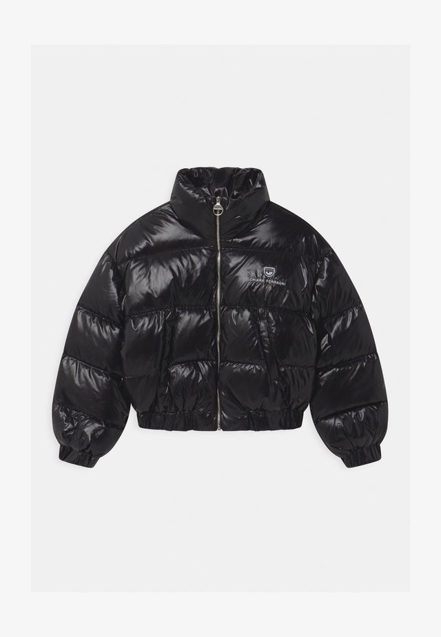 LOGO - Down jacket - black