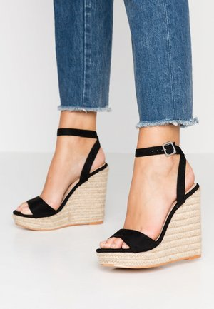 SYDNEY - Sandály na vysokém podpatku - black
