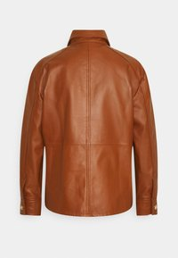 LIU JO - GIACCA CAMICIA - Leather jacket - cuir - 1