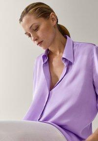 Massimo Dutti - Overhemdblouse - dark purple - 1