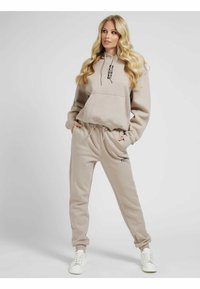 Guess - Tracksuit bottoms - beige - 1