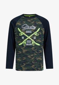 WE Fashion - Long sleeved top - dark green - 2
