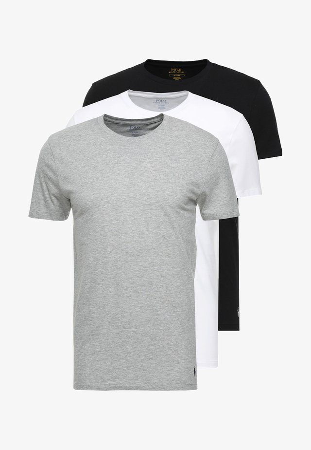 3 PACK - Undertrøye - white/black/anthracite