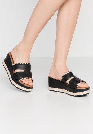 Sandaler - black/natural