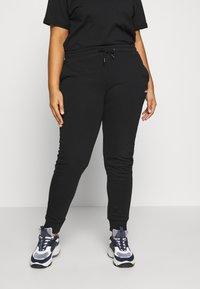 Fila Plus - EIDER PANT - Pantaloni sportivi - black - 0