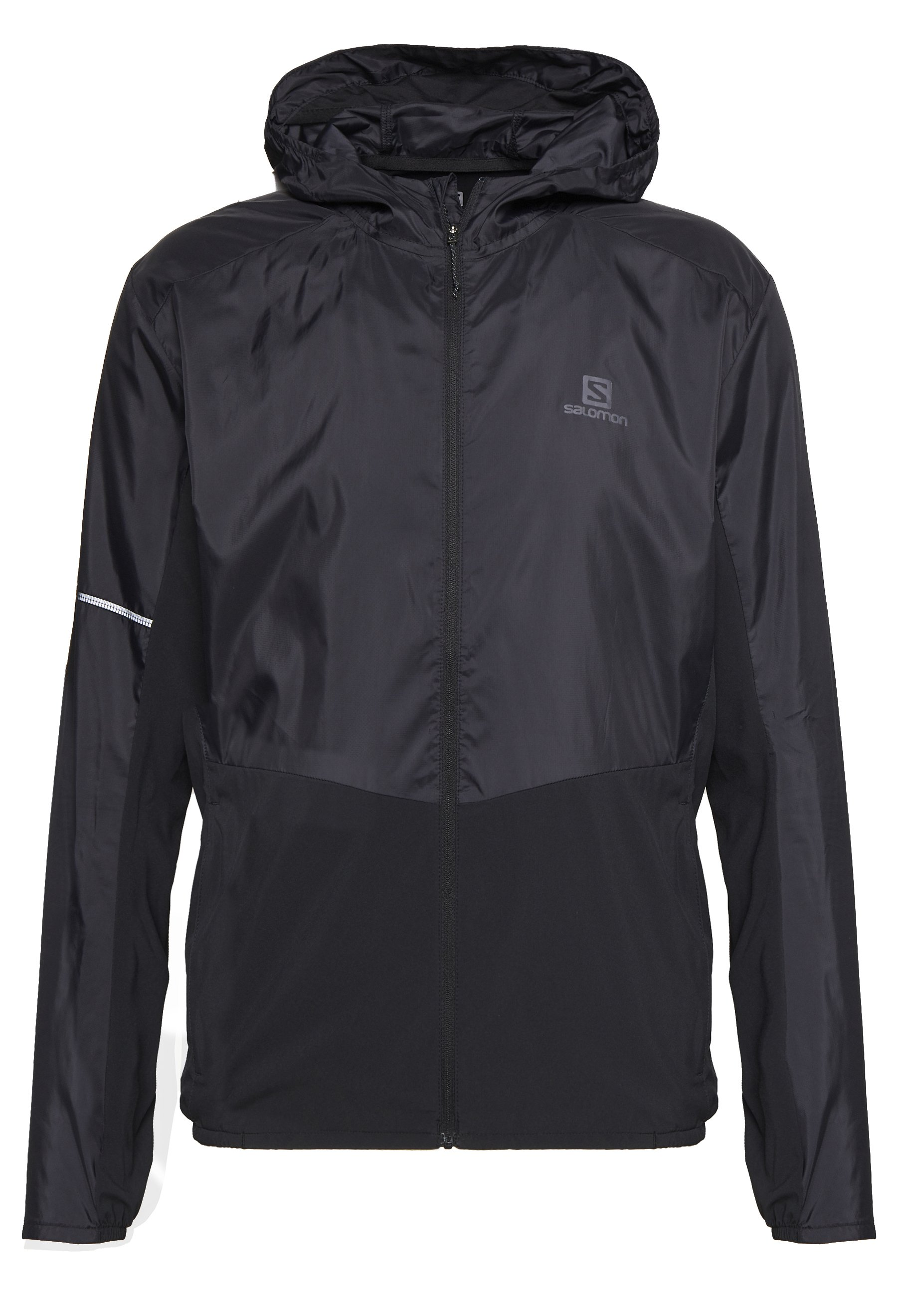 Salomon AGILE HOODIE - Outdoorjakke - black