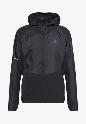 AGILE HOODIE - Giacca outdoor - black