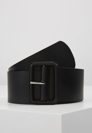 LEATHER - Pásek - black