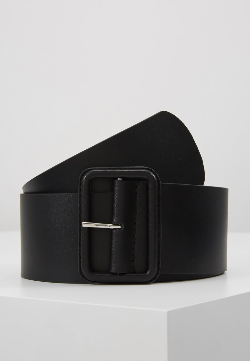 Zign - LEATHER - Waist belt - black