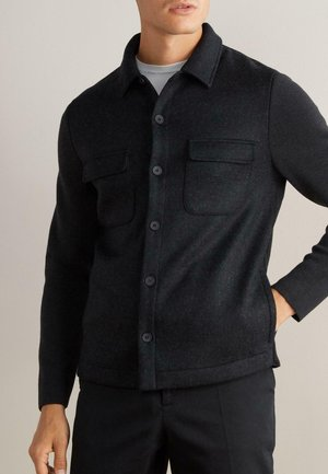LEGERE  ÄRMELN AUS - Summer jacket - schwarz